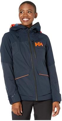 Helly Hansen Powchaser Lifaloft Jacket (Navy) Women's Coat