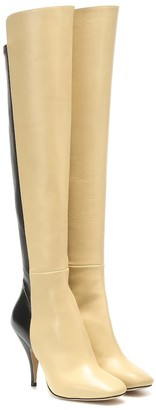 Petar Petrov Soekie leather knee-high boots