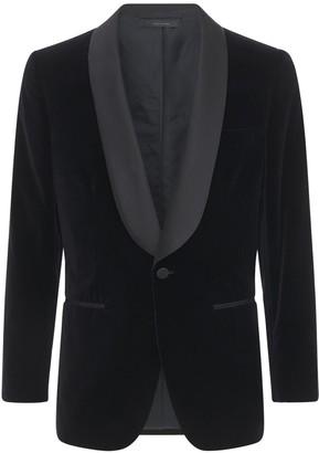 Brioni Bp Velvet Cotton Tuxedo Jacket