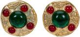One Kings Lane Vintage 1980s Chanel Gripoix Earrings - Vintage Lux - multi