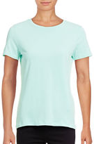Lord & Taylor Petite Compact Cotton T-Shirt