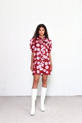 Glamorous Womens **Floral Printed Shirt Dress By Red