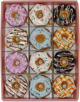 Kurt Adler Set of 12 Donut Ornaments