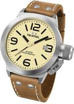 TW Steel Men's CS12 Analog Display Quartz Brown Watch