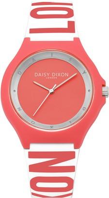 Daisy Dixon Women's Analogue Quartz Watch with Silicone Strap DD040O