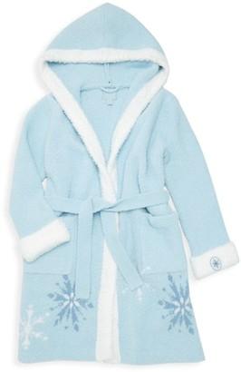 Barefoot Dreams Disney's Frozen 2 Little Girl's & Girl's Snowflake Fleece Robe
