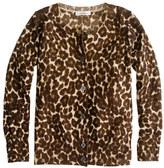 J.Crew Girls' merino leopard cardigan