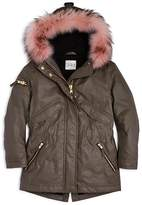 SAM. Girls' Fur-Trimmed Parka - Big Kid