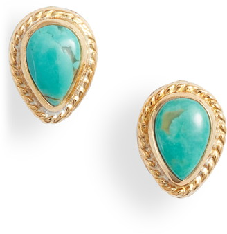 Anna Beck Turquoise Stud Earrings
