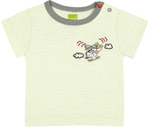 Kushies Green Helicopter Tee - Infant
