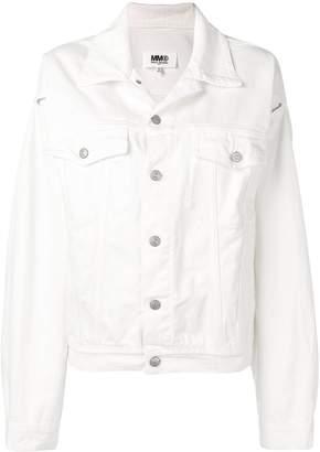 MM6 MAISON MARGIELA slit sleeve denim jacket