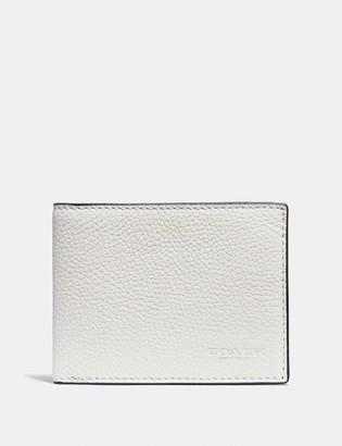 Coach Slim Billfold Wallet In Colorblock