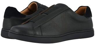 Vionic Hiro Leather (Black) Men's Shoes
