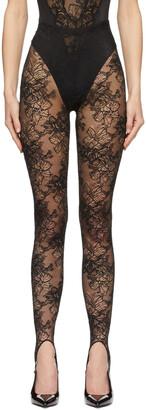 La Perla Black Archives Lace Leggings