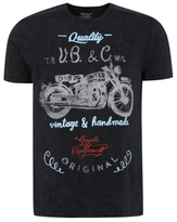 George Motorbike Graphic T-Shirt