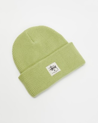 Stussy Green Beanies - Work Gear Tall Beanie - Size One Size at The Iconic