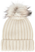 Jocelyn Faux Fur Pom Hat