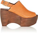 Simon Miller Women's Leather Slingback Platform Clogs