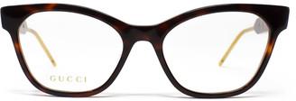 Gucci Gg0600o Havana Glasses