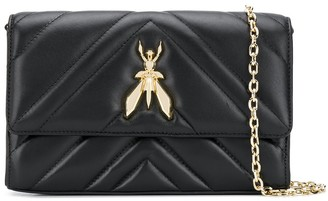 Patrizia Pepe Quilted Fly crossbody bag