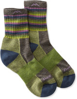 L.L. Bean Women's Darn Tough Cushion Socks, Micro-Crew Stripe