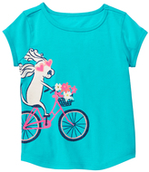 Gymboree Summer Fun Dog Riding Bike Tee - Girls
