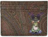 Etro Frog King Card Holder Wallet