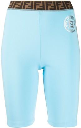 Fendi Monogram Cycling Shorts