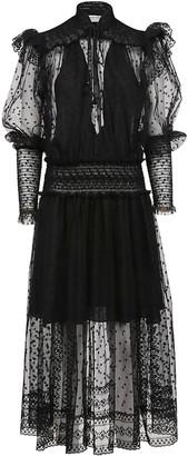 Philosophy di Lorenzo Serafini Lace Frill Dress