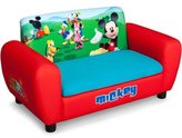Disney Mickey Mouse Sofa with Storage - Cushion opens to reveal a storage area