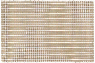 Dash & Albert Gridiron Indoor/Outdoor Rug - Wheat 6'x9'