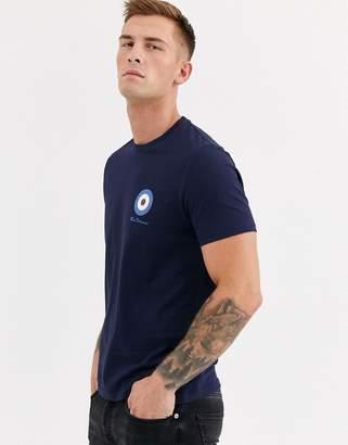 Ben Sherman Small Target T-Shirt-Navy