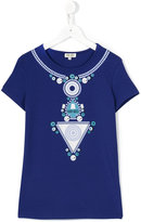 Kenzo printed T-shirt - kids - Cotton/Spandex/Elastane - 14 yrs