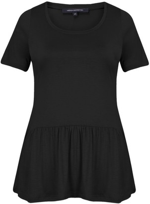 French Connection Women's Mercerised Jersey Top