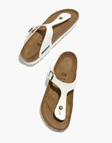 Madewell Birkenstock Gizeh Sandals in Birko-Flor