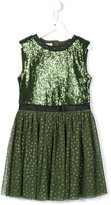 Diesel sequin embellished flared dress