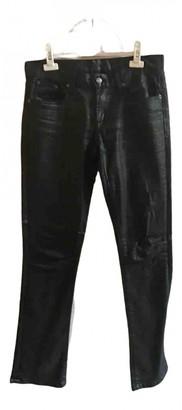Ralph Lauren Black Spandex Trousers for Women