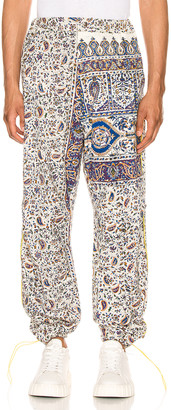 Paria Farzaneh Iranian Print Pleat Trouser in Multi | FWRD