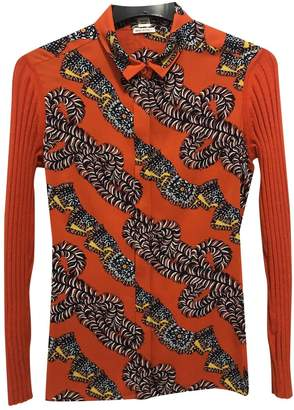 Hermes \N Orange Silk Knitwear for Women