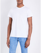A.p.c. Crewneck Cotton Jersey T-shirt