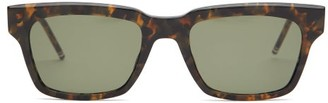 Thom Browne Square-frame Acetate Sunglasses - Mens - Tortoiseshell