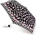 Lulu Guinness Lulu Guiness Superslim Lip Border Umbrella