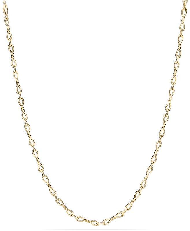 David Yurman Continuance Necklace in 18K Yellow Gold