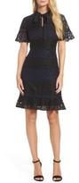 Julia Jordan Women's Lace Fit & Flare Dress