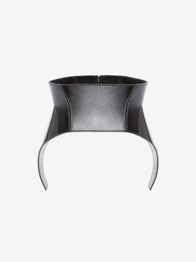 Alexander McQueen Beetle Leather Corset