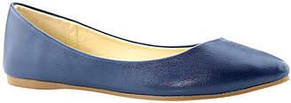 Bella Marie Women's Ballet Flats navy - Navy Pointed-Toe Angie Flat - Women