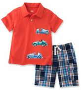 Kids Headquarters Two-Piece Polo and Shorts Set