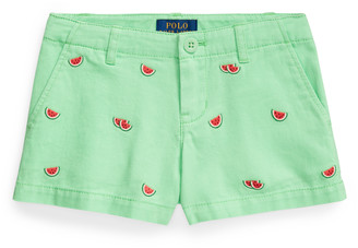 Ralph Lauren Watermelon Cotton Chino Short