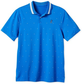 Disney Mickey Mouse Performance Polo Shirt for Men by Nike Golf Blue Print