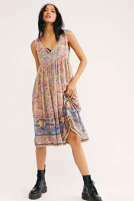 Free People Spell And The Gypsy Collective Seashell Babydoll Midi Dress by Spell and the Gypsy Collective at